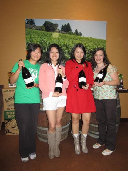 At Willamette Valley Vineyards
