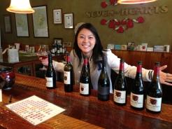 Having some wine in Carlton