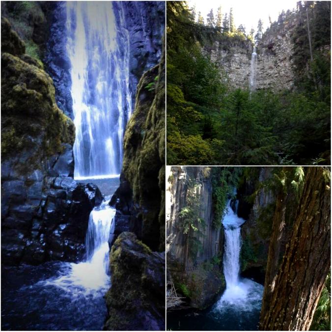 Susan Creek Falls, Toketee Falls, Watson Falls