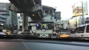 Traffic in Manila