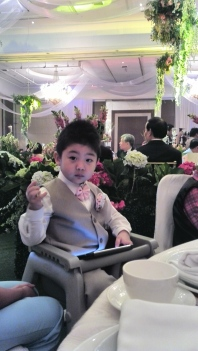 My nephew the ring bearer