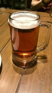 Raspberry beer