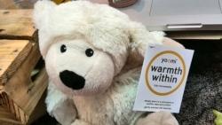 Heatable stuffed animal