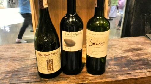 Wine Depot tasting flight