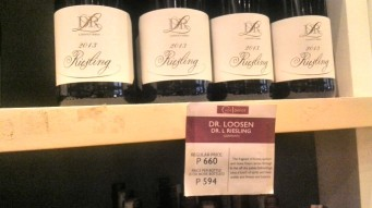 Riesling at Wine Depot