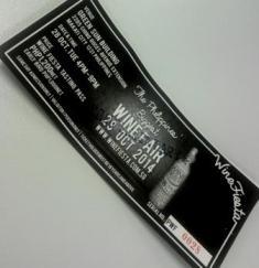 Wine Fiesta ticket