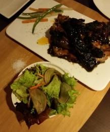Organic BBQ Pork Spare Ribs