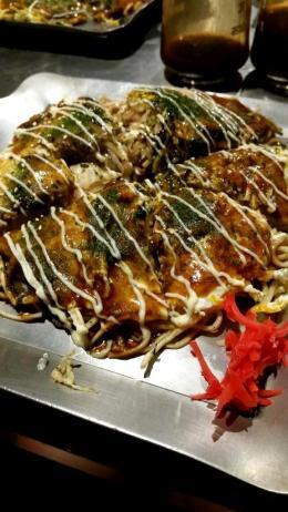 Hokkaido style okonomiyaki