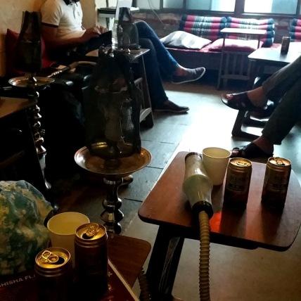 Hookah bar in Asakusa