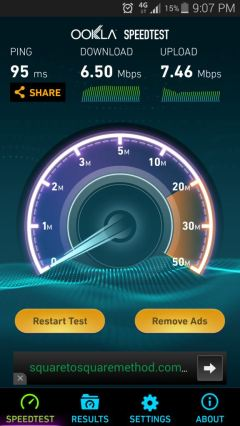 I'm jealous of their Internet speeds