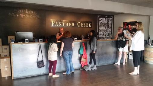 Panther Creek tasting room