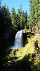 Central Oregon waterfall
