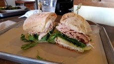 Turkey sandwich from Red Hills Market