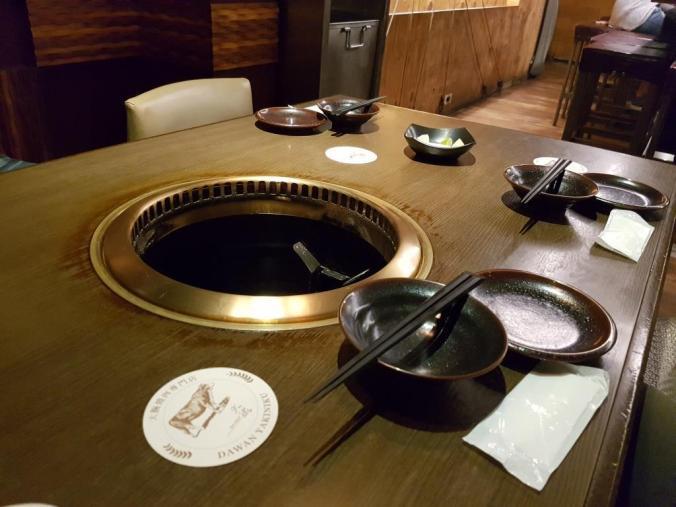 Table at DaWan