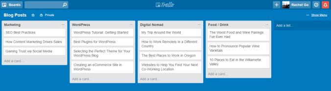 Trello | Remote Work Tools Checklist