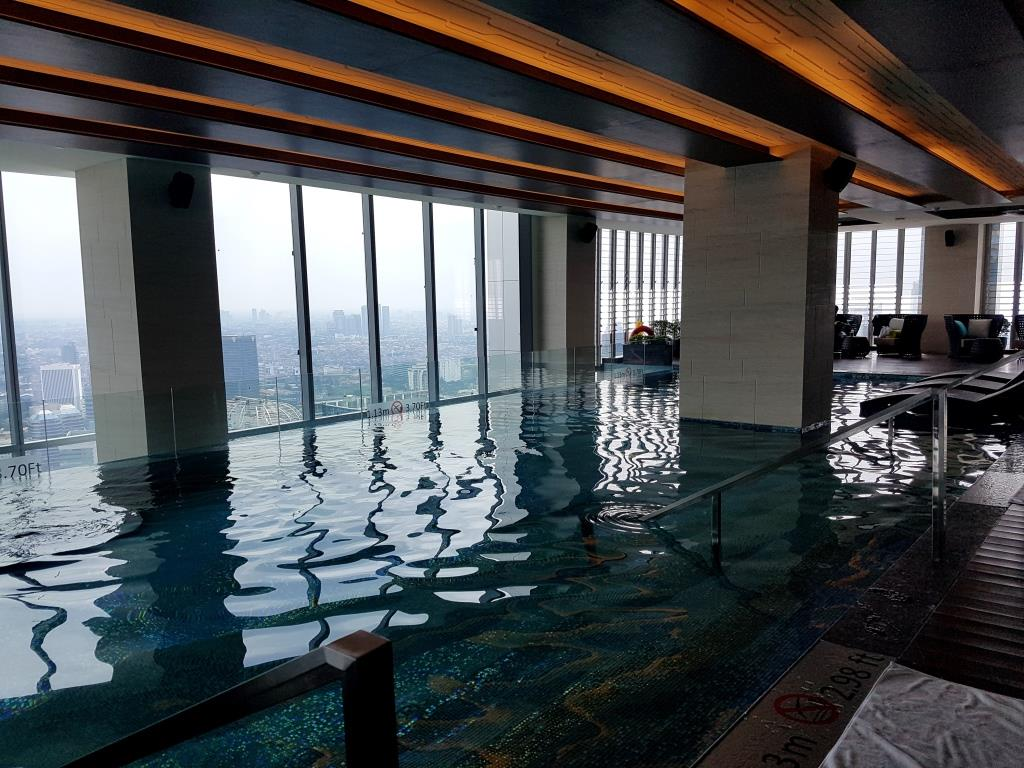 Westin Jakarta Indoor Pool Rachel Andrea Ko Go
