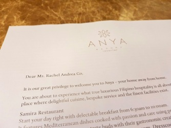 Anya welcome letter